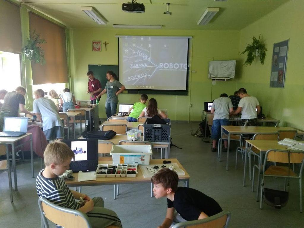 Zajęcia kreatywne w klasach czwartych
